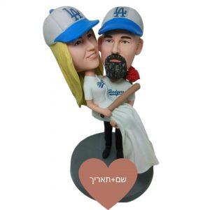 בובה מותאמת אישית עם תוספת קטנה מתנה לבן זוג-מתנה לבת זוג